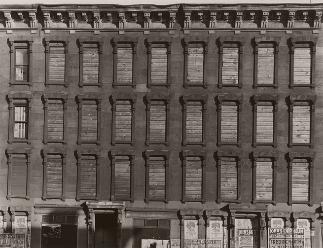Aaron Siskind (born New York City 1903 - died Providence, RI 1991) 'Untitled' 1937, printed later