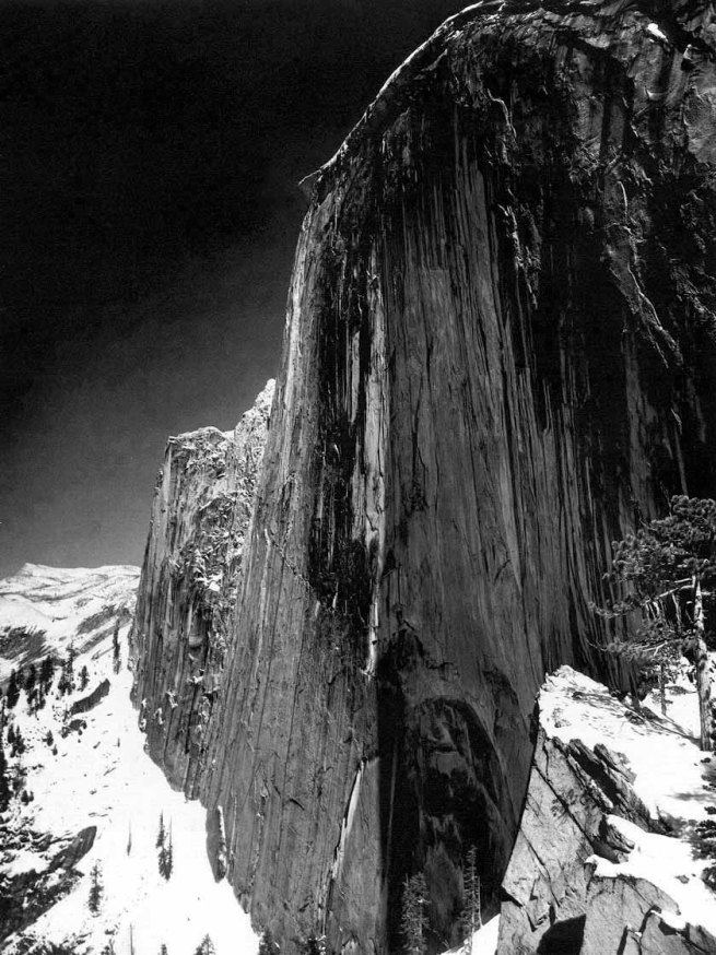 Ansel Adams (born San Francisco, CA 1902 - died Monterey, CA 1984) 'Monolith: The Face of Half Dome, Yosemite Valley' 1926-1927, printed 1927
