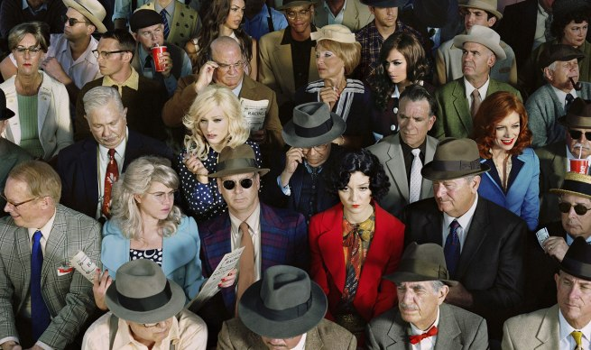 Alex Prager (b.1979) 'Crowd #1 (Stan Douglas)' 2010