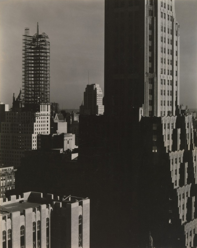 Alfred Stieglitz (American, 1864-1946) '[From My Window at the Shelton, North]' 1931