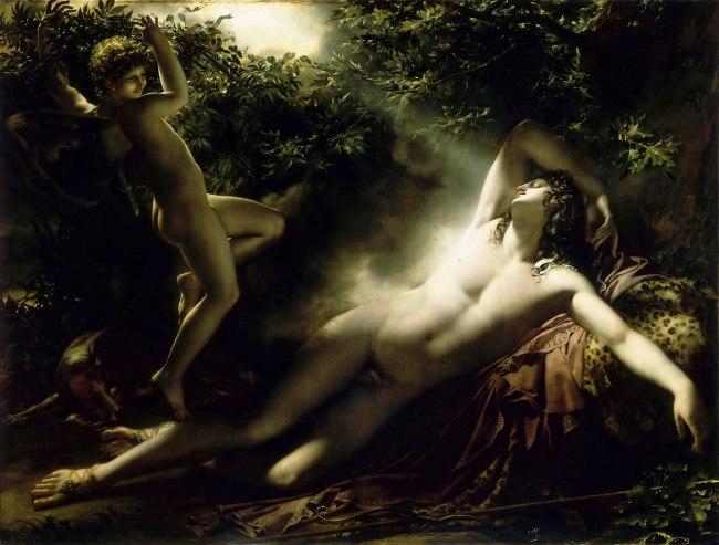 Anne-Louis Girodet (1767-1824) 'The Sleep of Endymion' 1791