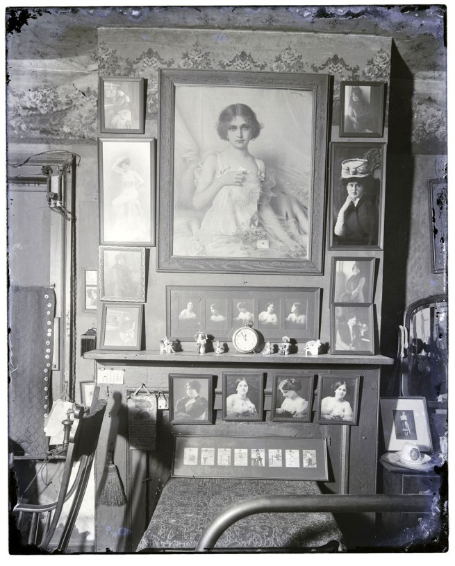 E. J. Bellocq (American, 1873-1949) 'Bedroom Mantel, Storyville' c. 1911-1913