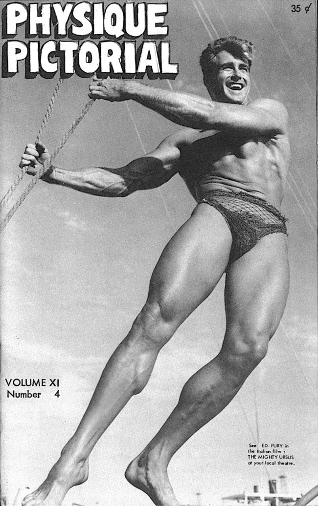 Bob Mizer. 'Physique Pictorial Volume 11 Number 4, May 1962' 1962