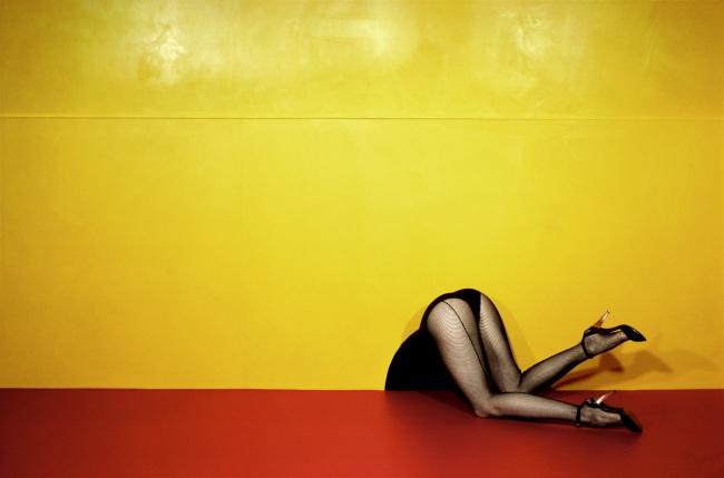 Guy Bourdin. 'Charles Jourdan - Spring 1979' 1979