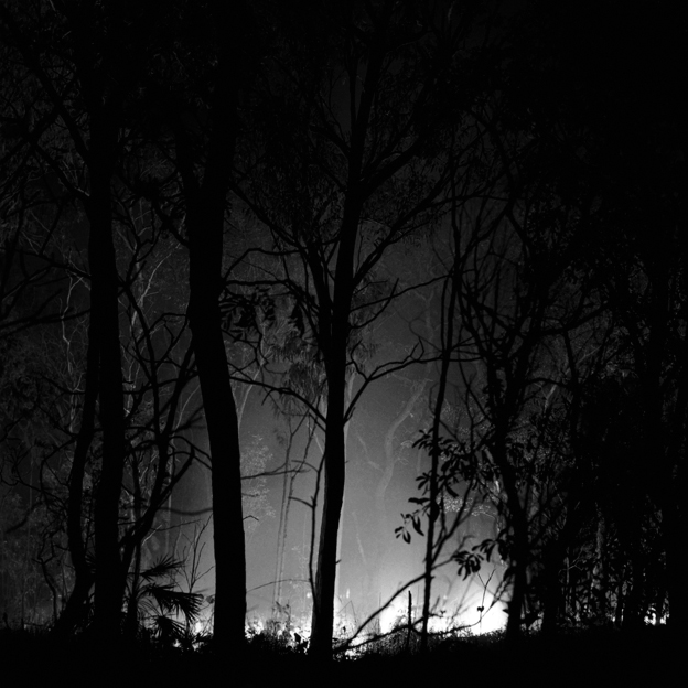 Claudia Terstappen. 'Bushfire III (Northern Territory, Australia)' 2002