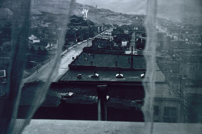 Robert Frank (born Zurich, Switzerland 1924) 'Butte, Montana' 1956, printed 1973