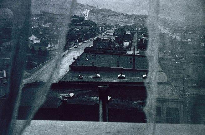 Robert Frank (born Zurich, Switzerland 1924) 'Butte, Montana' 1956, printed 1973