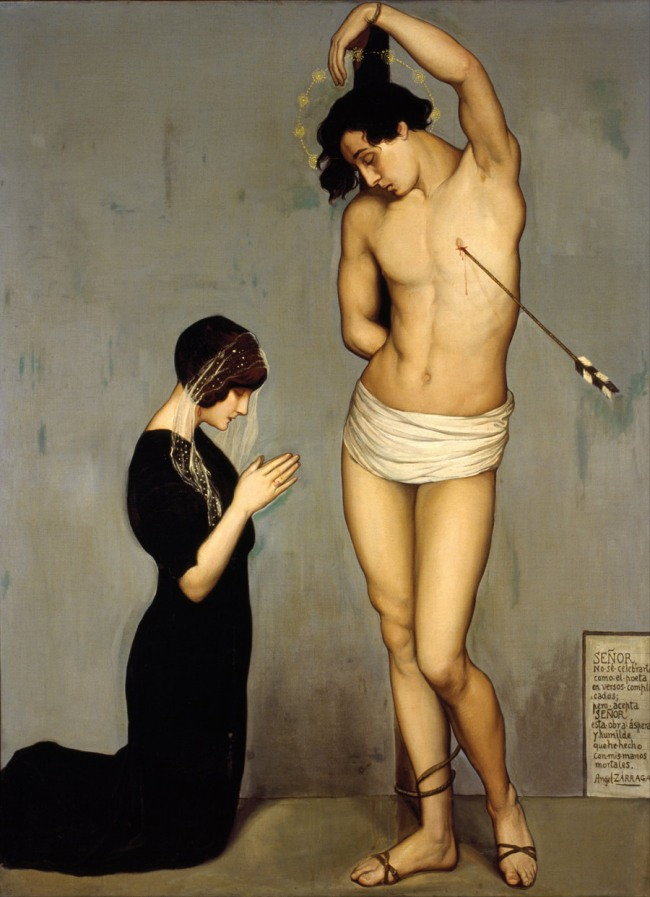 Ángel_Zárraga-Votive_Offering_(Saint_Sebastian)-1912-WEB