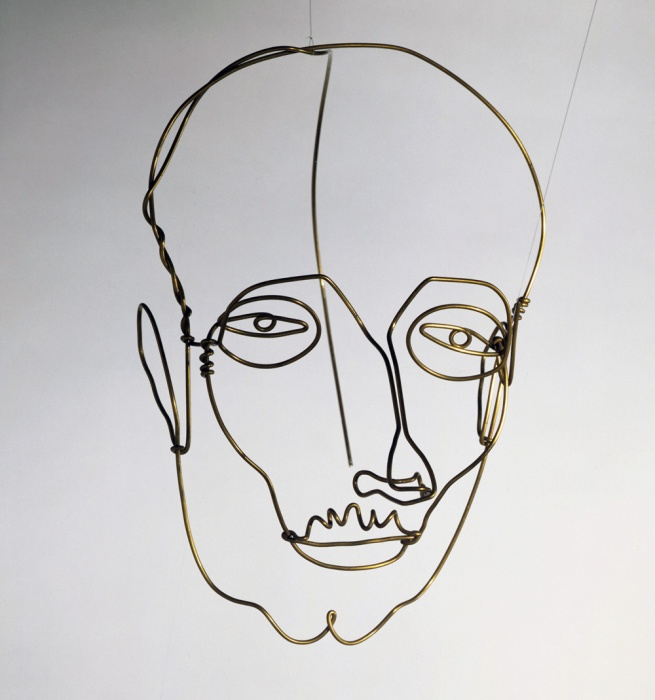 Alexander Calder. 'Portrait of a Man' c. 1928