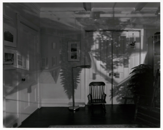 Abelardo Morell (American, born Cuba, 1948) 'Camera Obscura: Houses Across the Street in Our Bedroom, Quincy, MA' 1991