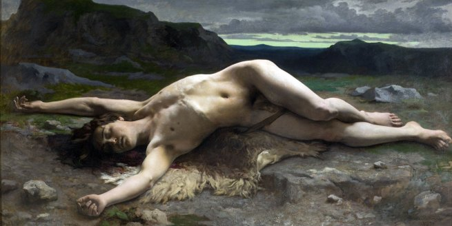 Camille Félix Bellanger. 'Abel' 1874-75