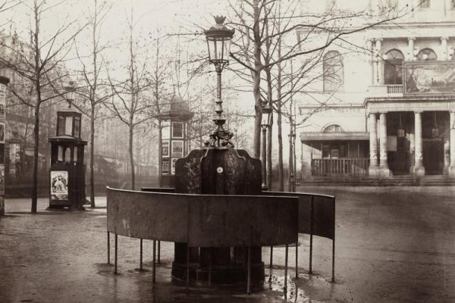 Charles Marville. 'Urinoir (système Jennings) plateau de l'Ambigu (Urinal, Jennings System, plateau de l'Ambigu)' 1876