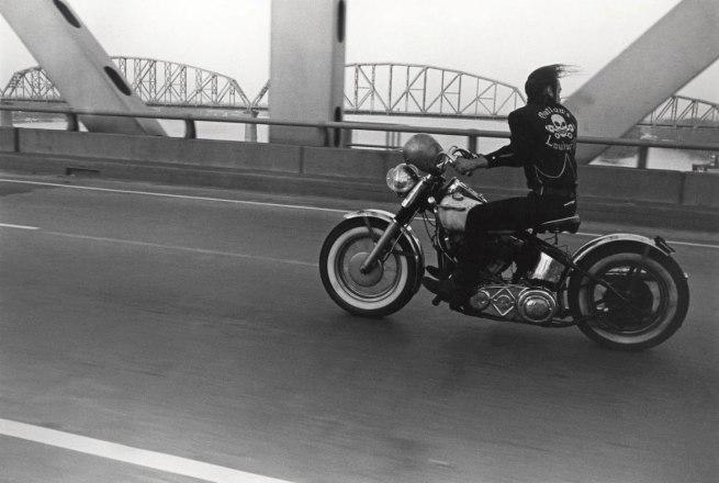 Danny Lyon. 'Crossing the Ohio River, Louisville' 1966, printed 1985