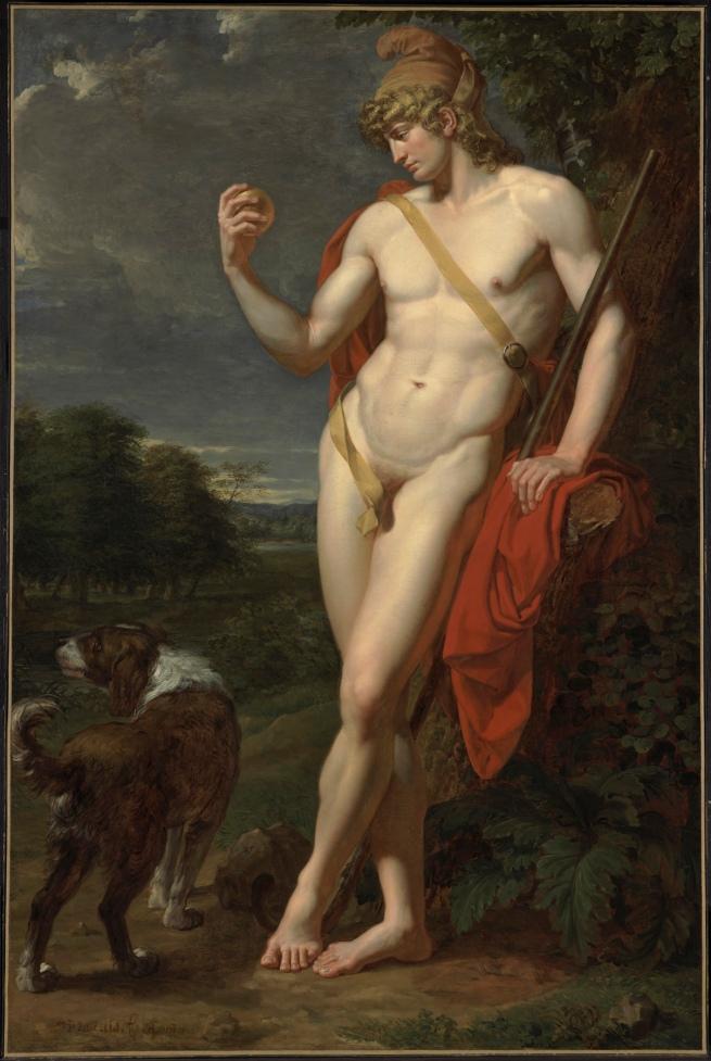 Jean-Baptiste Frédéric Desmarais (1756-1813) 'Le Berger Pâris' (The Shepherd, Paris) 1787