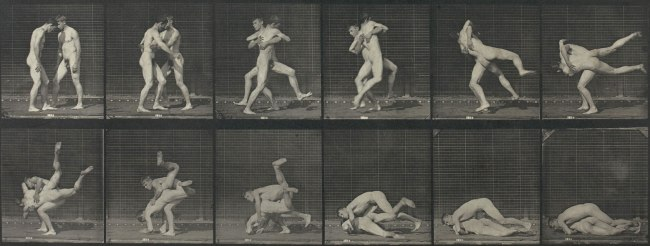 Eadweard Muybridge. 'Motion Study (Men wrestling)' 1887