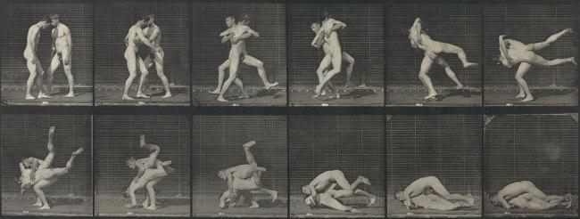 Eadweard Muybridge. 'Motion Study (Men wrestling)' 1887