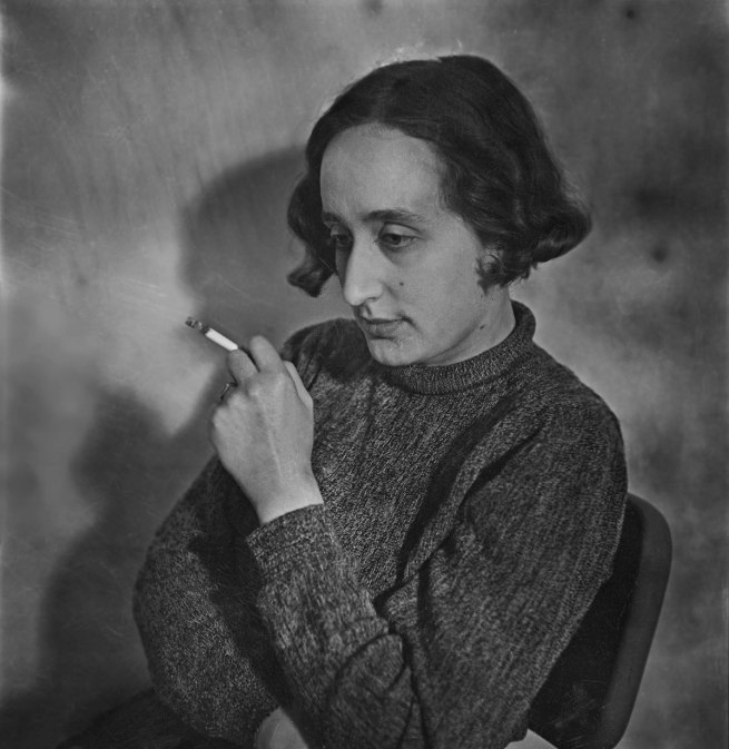 Edith Tudor-Hart. 'Self-portrait, London' about 1936