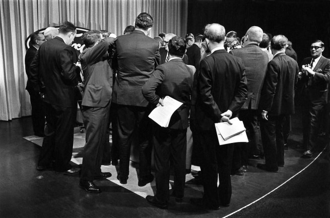 Enrico Natali. 'Ford Motor Company press conference, Detroit, 1968' 1968
