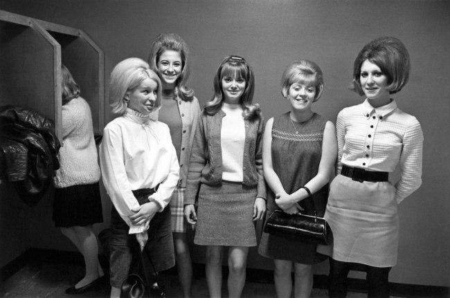 Enrico Natali. 'Office workers, Detroit, 1968' 1968