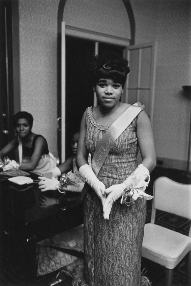 Enrico Natali. 'Gala hostess, Detroit, 1968' 1968