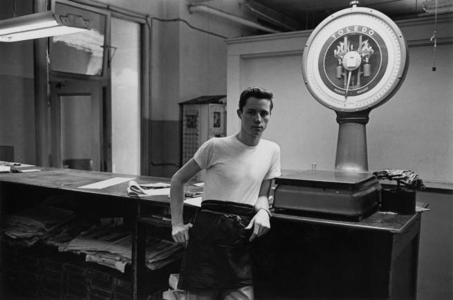 Enrico Natali. 'Typesetter at work, Detroit, 1968' 1968