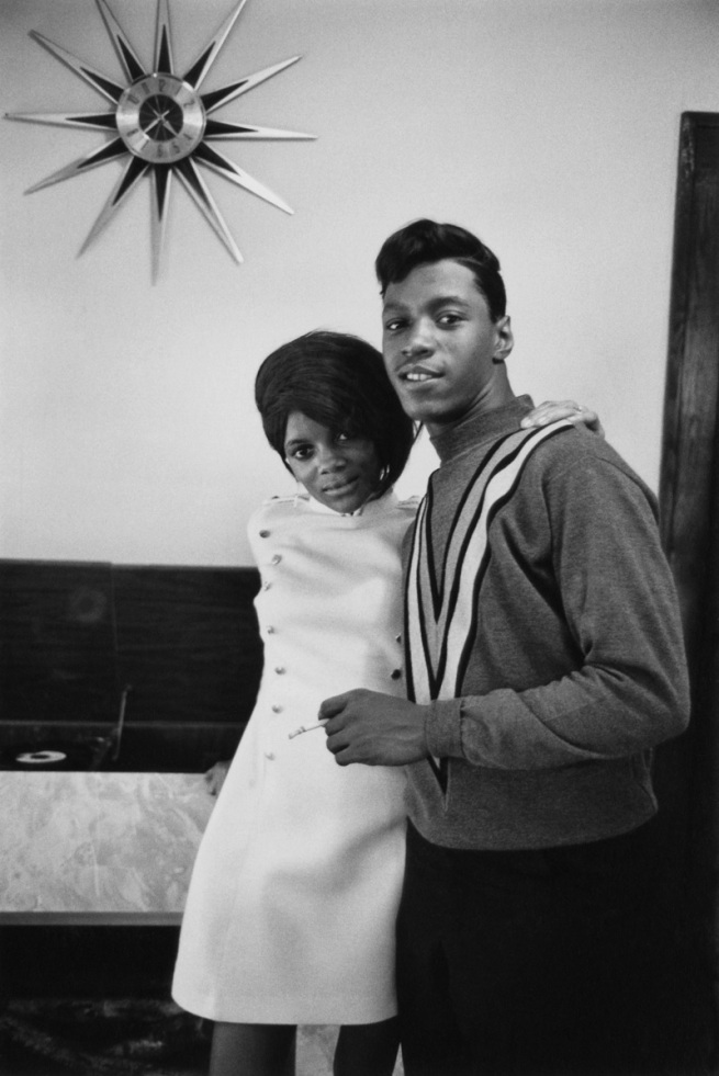 Enrico Natali. 'Newlywed couple, Detroit, 1968' 1968