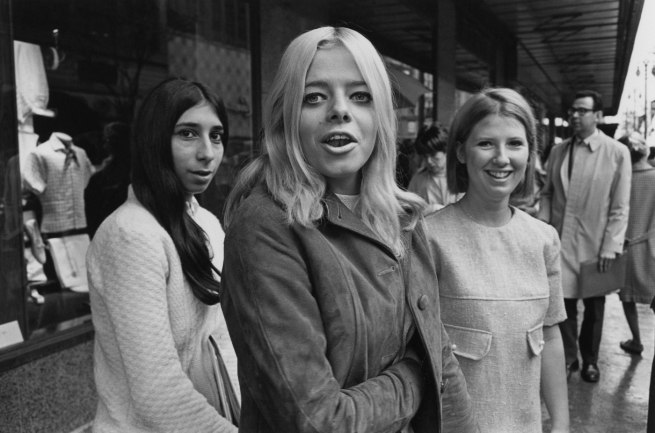 Enrico Natali. 'Suburban girls shopping in downtown Detroit, Detroit, 1968' 1968
