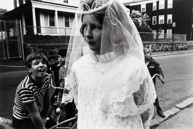 Eugene Richards (b.1944) 'First Communion, Dorchester' 1976