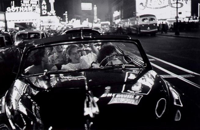Louis Faurer (born Philadelphia, PA 1916 - died New York City 2001) 'Broadway, New York, N.Y.' 1949-1950, printed 1980-1981
