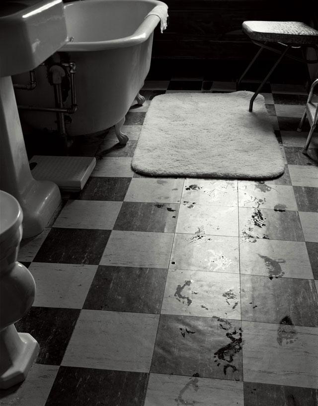 Abelardo Morell (American, born Cuba, 1948) 'Footprints' 1987