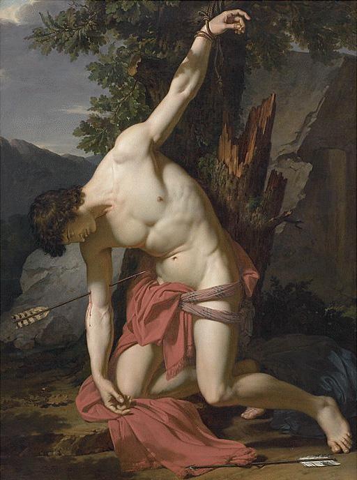 François-Xavier Fabre (1766-1837) 'The Dying Saint Sebastian' 1789