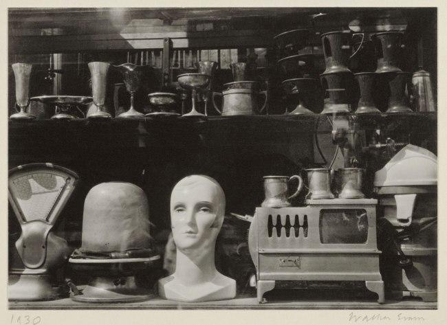 Walker Evans (American, 1903-1975) 'Wall Street Windows' about 1929