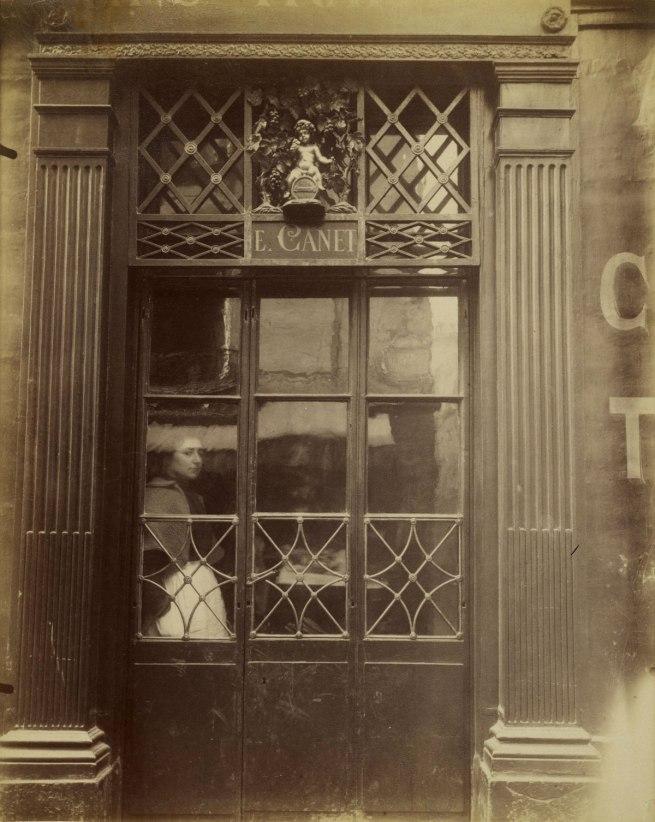 Eugène Atget (French, 1857-1927) 'Petit Bacchus, 61, rue St. Louis en l'Ile' (The Little Bacchus Café, rue St. Louis en l'Ile) 1901-1902