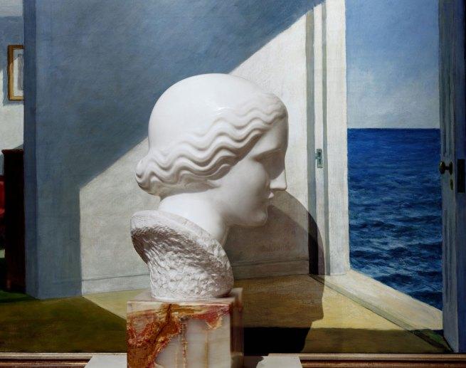 Abelardo Morell (American, born Cuba, 1948) 'Nadelman/Hopper, Yale University Art Gallery' 2008
