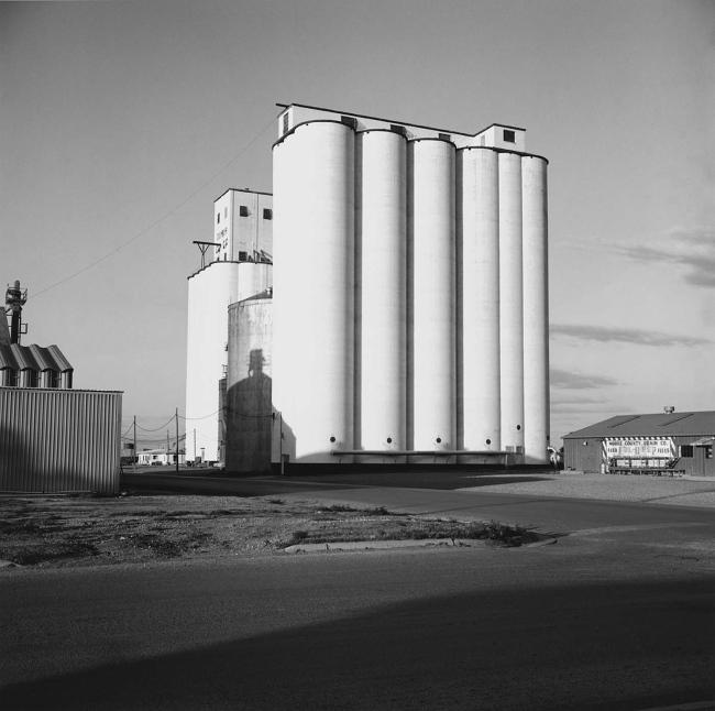 Frank Gohlke. 'Grain Elevator, Dumas, Texas, 1973' 1973, printed 1994