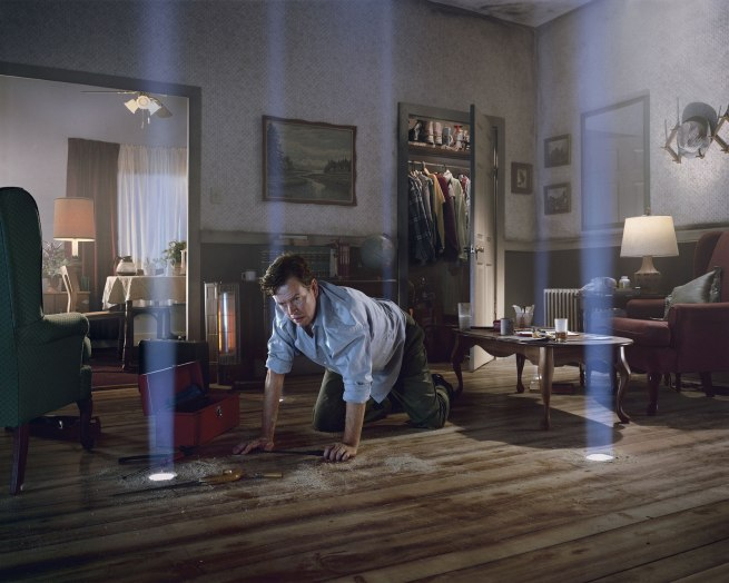 Gregory Crewdson (b.1962) 'Untitled (Dylan on the Floor)' from the 'Twilight Series' 1998-2002
