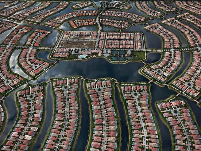 Edward Burtynsky. 'Verona Walk, Naples, Florida, USA' 2012