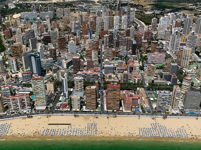 Edward Burtynsky. 'Benidorm #2, Spain' 2010