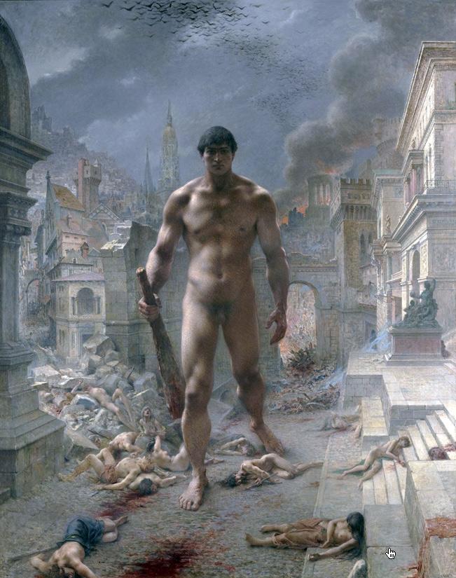 Henri-Camille-Danger.-Fléau!,-1901. Paris, musée d'Orsay-WEB