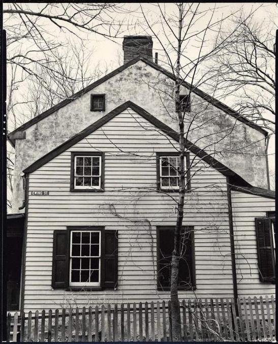 Brett Weston (American, 1911-1993) '[House, Ewing Street, Staten Island, New York]' c. 1945