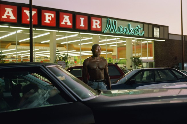 Philip-Lorca diCorcia. 'Ike Cole, 38 years old, Los Angeles, California, $25' 1990-92
