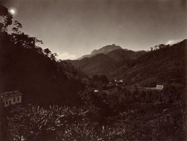 Revert Henrique Klumb (c. 1830s - c. 1886, born in Germany, active in Brazil) 'Petrópolis's Mountain Range (Night View), Petrópolis, Rio de Janeiro' c. 1870