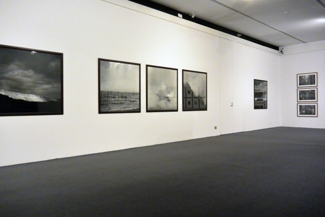 Installation photographs of the exhibition 'Claudia Terstappen: In The Shadow Of Change' at the Monash Gallery of Art, Wheelers Hill, Melbourne
