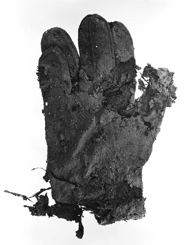 Irving Penn. 'Mud Glove - New York' 1975, printed 1976