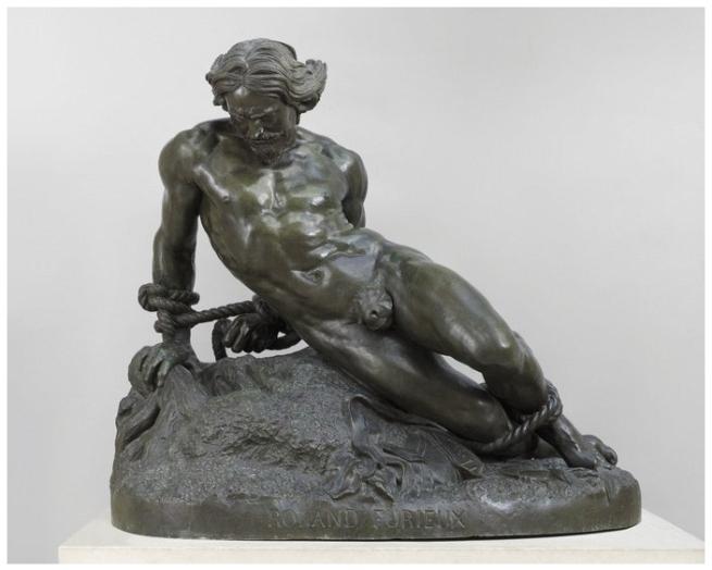 Jean-Bernard Duseigneur (1808-1866) 'Orlando Furioso' 1867
