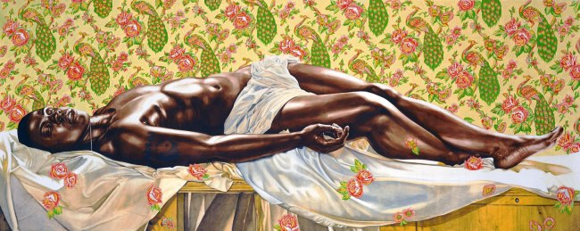Kehinde Wiley. 'Death of Abel Study' 2008