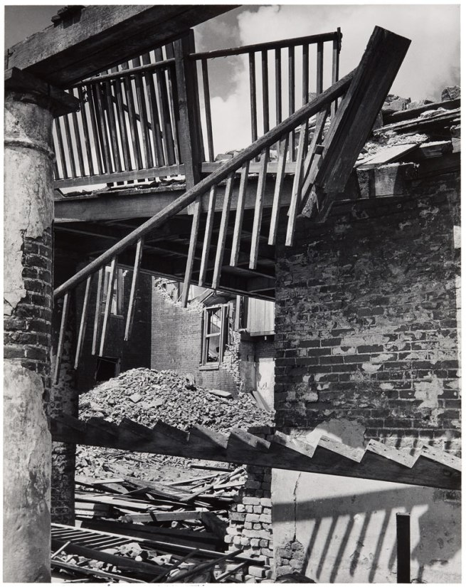 Clarence John Laughlin (American, 1905-1985) 'A Mangled Staircase (No. 2)' 1949