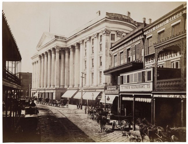 Theodore Lilienthal (American, 1829-1894) 'Charles Hotel, New Orleans' c. 1867