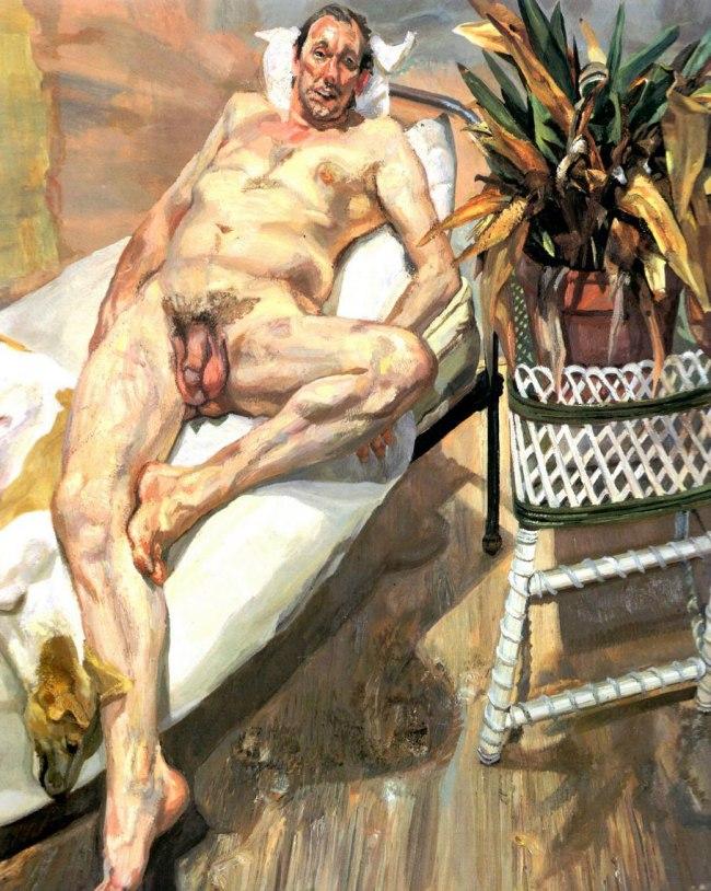 Lucian Freud. 'David and Eli' 2004