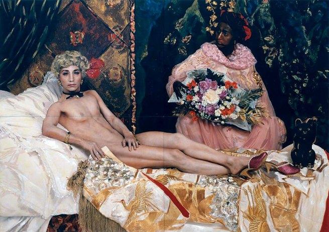 Yasumasa Morimura. 'Portrait (Futago)' 1988